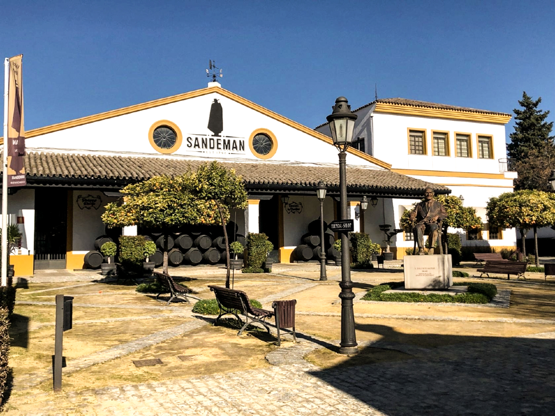 Visit Us Sherry Bodegas Wine Cellars