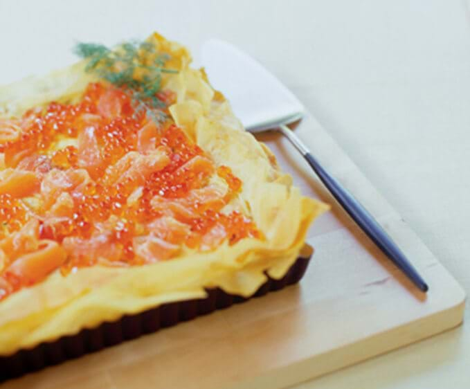 Smoked Salmon Pie